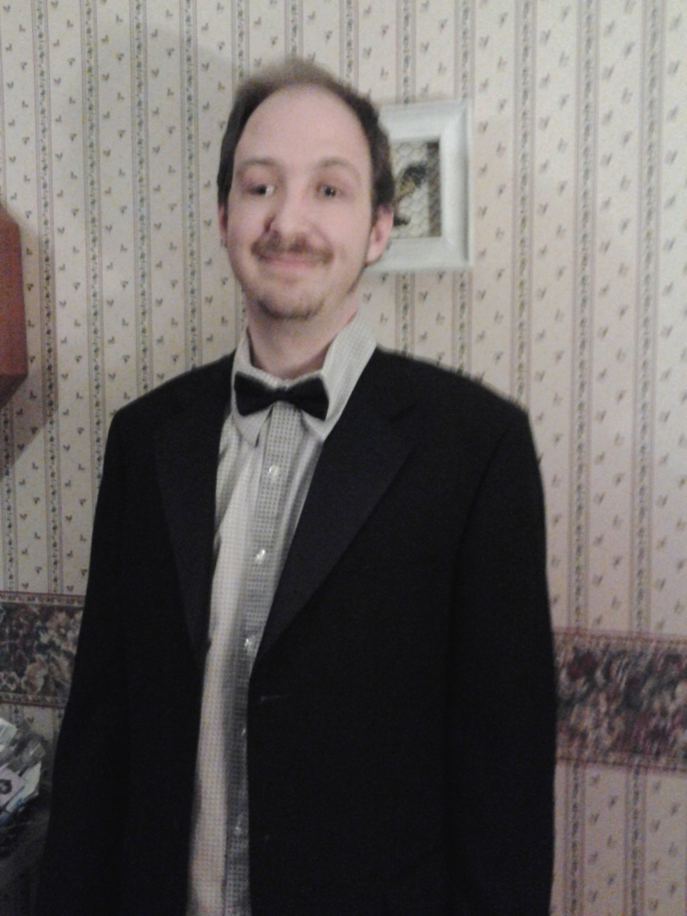 Dr. Who...complete with bow tie! Because Bow Ties are Cool!
