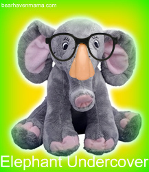 find stuffable elephants and more at www.bearhavenboutique.com