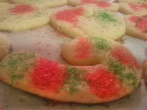 So many yummy cookies and yet I got hardly any of them!