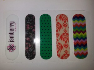 sample colors for Jamberry Nails