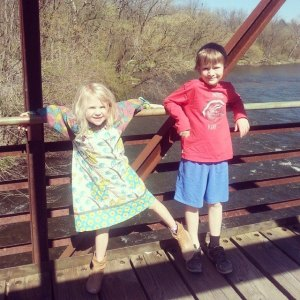 The Bear Haven Kidlets enjoying the beautiful weather on Easter