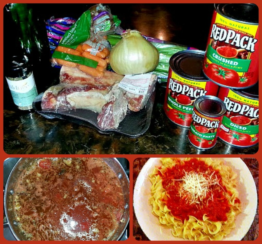Authentic Italian Gravy with Red Pack Tomatoes