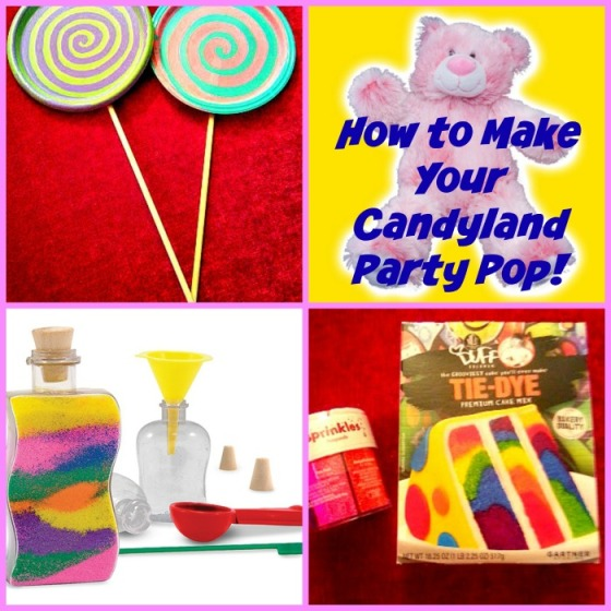 Create a fun Candyland theme with these simple and fun ideas!