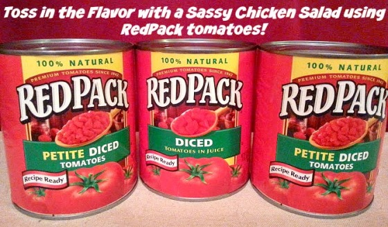 Sassy Chicken Salad with RedPack Tomatoes