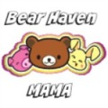 bear haven mama button