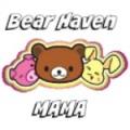 bear haven mama button