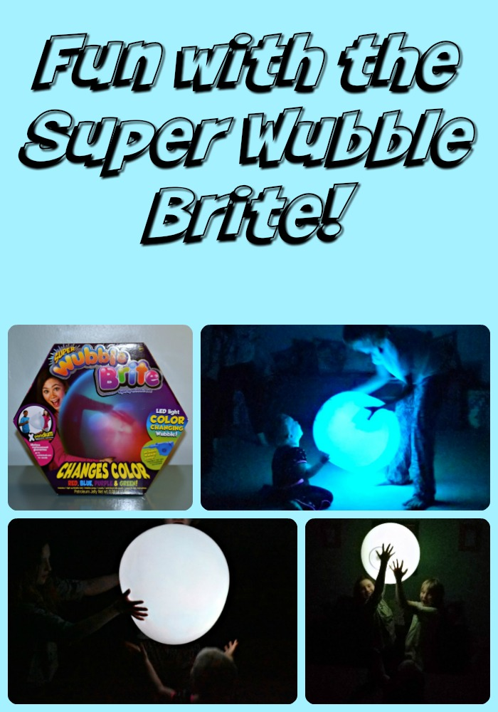 How to make your sleepover a blast with the Super Wubble Ball Brite!