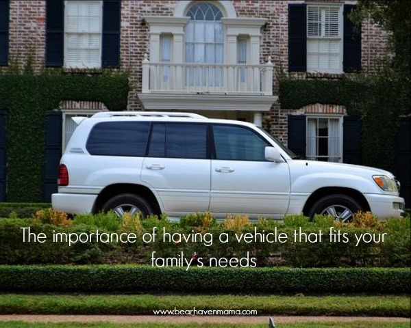 Seven Tips For Finding a Vehicle for your Family (and Why It's Important)